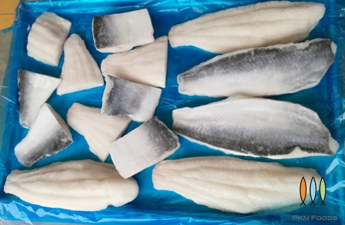 Pangasius Fillet/Piece Semi Trimmed Skin On